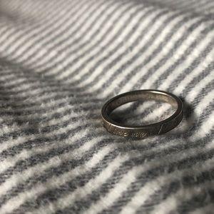 """tiffany & co """"i love you"""" ring"""